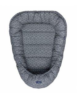 Kokon / Gniazdko niemowlęce Geo Blue steel