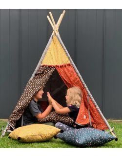 Leopard – tipi, namiot dla dzieci z matą podłogową