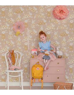 Tapeta dla dzieci w króliczki Poetry Majvillan