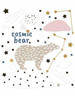 Zestaw naklejek Cosmic Bear