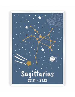 Obrazek Zodiac Sagittarius 30 x 40