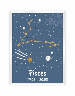 Obrazek Zodiac Pisces 30 x 40