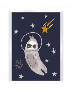 Obrazek Happy Sloth 30 x 40