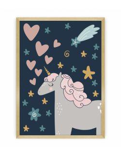 Obrazek Lovely Unicorn II 30 x 40