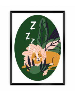 Obrazek Jungle Life lion 30 x 40