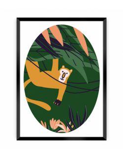 Obrazek Jungle Life monkey 30 x 40