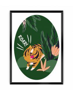 Obrazek Jungle Life tiger 30 x 40
