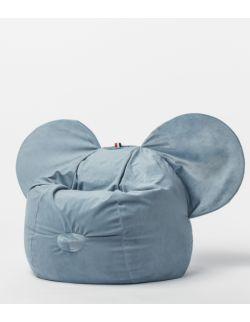 pufa ears niebieska