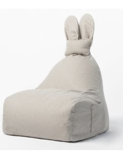 siedzisko puf Funny Bunny beżowy