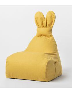 siedzisko puf Funny Bunny żółty