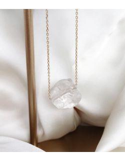 Naszyjnik - kryształ górski