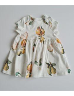 Sukienka z krótkim rękawkiem Gruszki