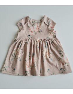 Sukienka z krótkim rękawem Róże