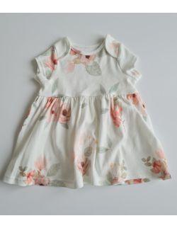 Sukienka z krótkim rękawem Kwiaty