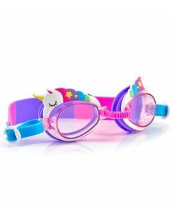 Okulary do pływania Aqua2ude, Miniunicorn, Mini jednorożec, Bling2o