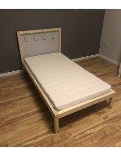 Łóżko Blocks 4 rozmiary – Malowane lub Lakierowane