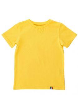 T-SHIRT - żółty