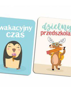 Karty do zdjęć - Zestaw Starszaka