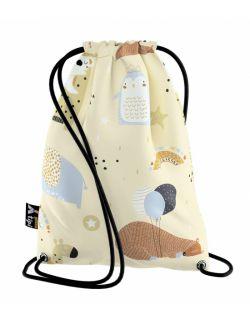 Worek plecak Kiddy beżowy