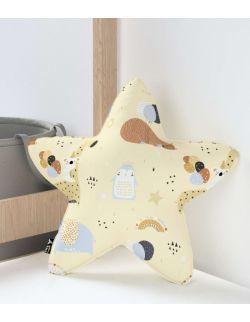 Poduszka Lucky Star beżowy
