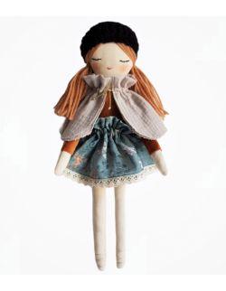 ekologiczna lalka Paryżanka LEA
