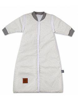 Śpiworek do spania szare wzory bawełna Premium