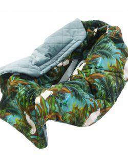 Kocyk Do Fotelika Samochodowego Khaki Tropical