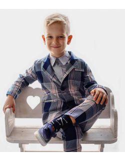 LuxNavy granatowa marynarka dla chłopca