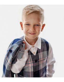 Lux Navy kamizelka bermudy muszka dla chłopca