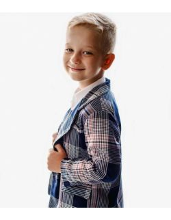 LuxNavy zestaw dla chłopca lux marynarka spodnie