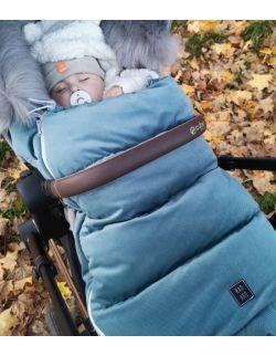 Be velvet! Śpiworek zimowy - Nepal (newborn 0-12mcy)