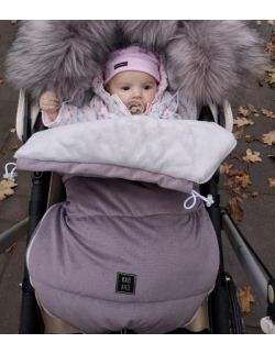 Be velvet! Śpiworek zimowy - Mokka (newborn 0-12mcy)
