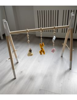 ZESTAW GIRL ( baby gym + zawieszki)