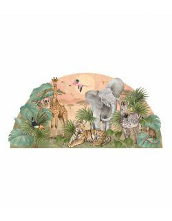 Naklejka Safari (161x79 cm)