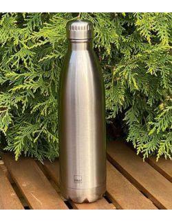 Butelka termiczna ze stali nierdzewnej Silver 0,75l H&H LIFESTYLE