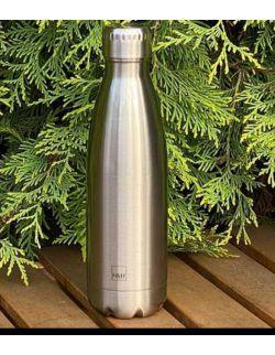 Butelka termiczna ze stali nierdzewnej Silver 0,5l H&H LIFESTYLE