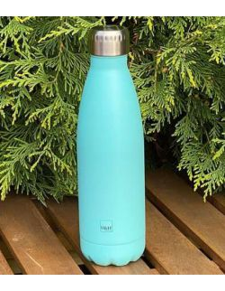 Butelka termiczna ze stali nierdzewnej Light Blue 0,5l H&H LIFESTYLE