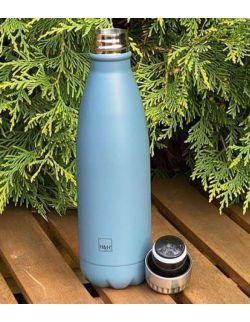 Butelka termiczna ze stali nierdzewnej Navy Blue 0,5l H&H LIFESTYLE