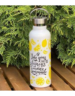 Butelka termiczna ze stali nierdzewnej Lemons 0,75l H&H LIFESTYLE