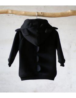bluza czarny szczerbuszek