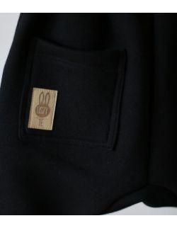 spodnie dresowe CZARNY uszytek ROZMIARY OD 62-68 DO 86-92