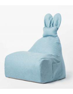 Puf Funny Bunny niebieski