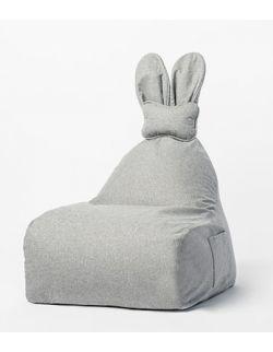 Puf Funny Bunny szary