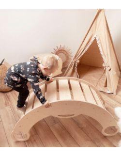 Duży bujak dziecięcy ROCKER 2w1- bujak i drabinka OH BABE