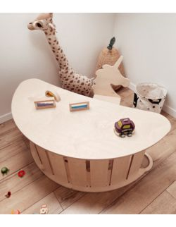 Bujak z blatem - biurko do bujaka dziecięcego