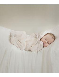 """otulacz wiązany dla noworodka Medbest """"NIUNIU"""" (2,5-5,5 kg / 0-3 m)"""