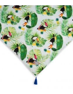 Otulacz bambusowy Tropicana Jungle Navy 120x120