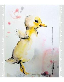 Plakat Zwierzęta wiejskie - Kaczor