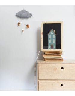 LIGHTBOX Lampka nocna z plakatem