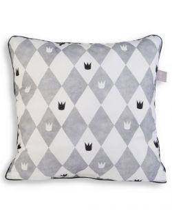 Poduszka Lazy Pillow Born to wear a crown 45x45